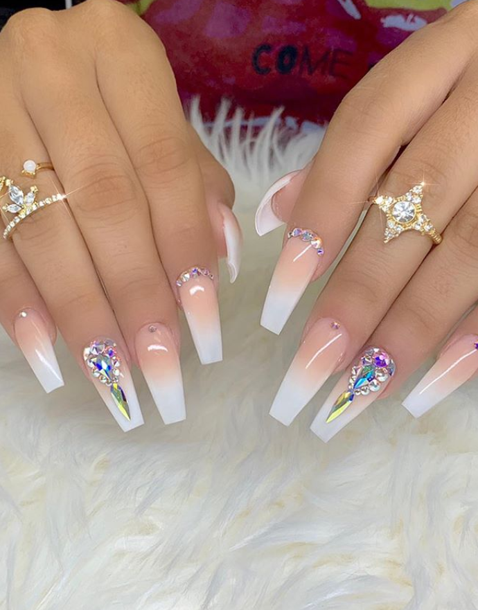 200 best images about Coffin Nails Design on Pinterest